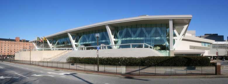The baltimore convention center