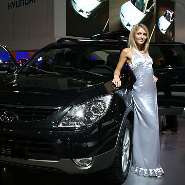 car show model