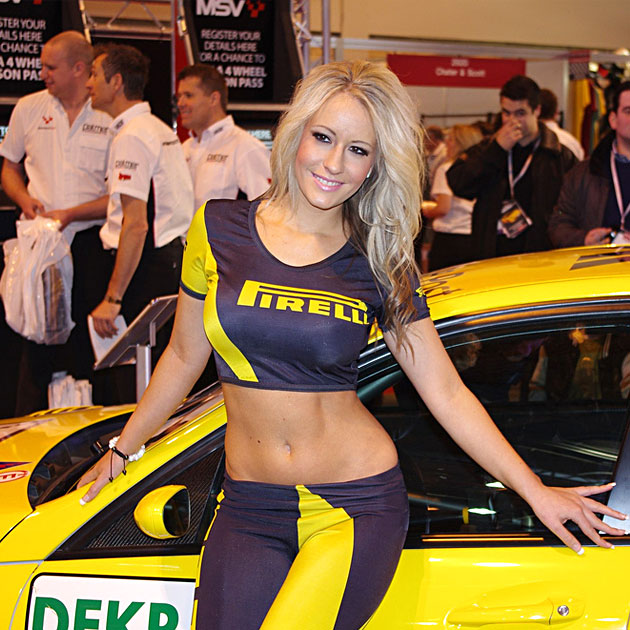 hire car show girls nascar models